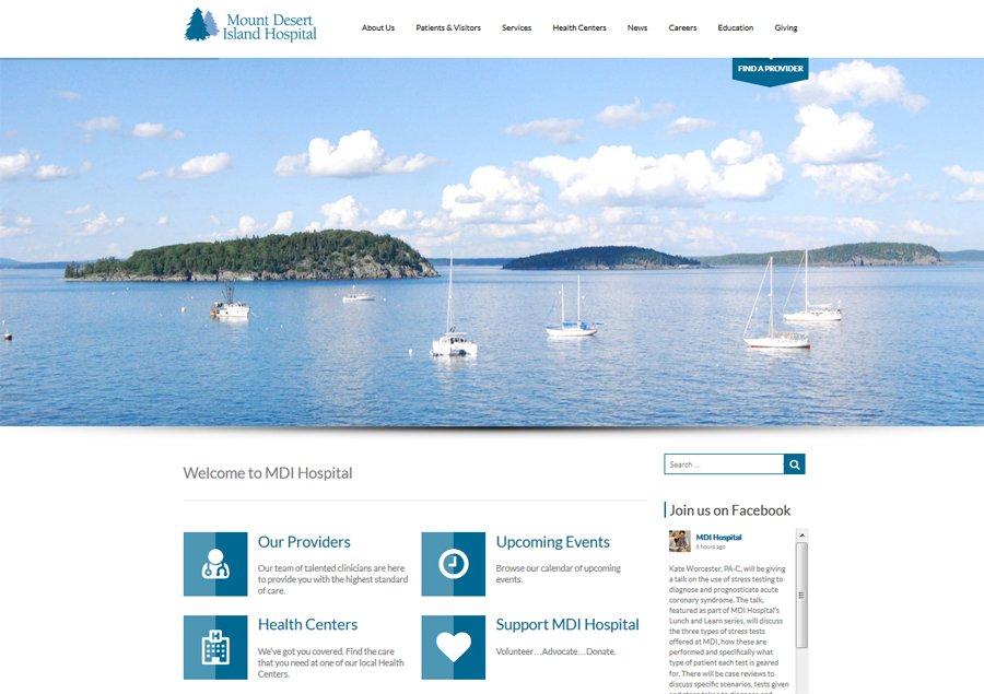MDI Hospital Home Page