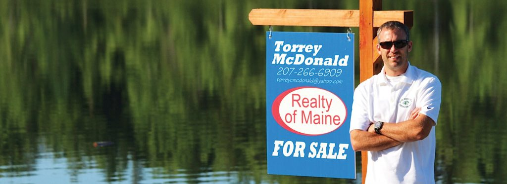 Torrey McDonald, Realty of Maine, Realtor, video production