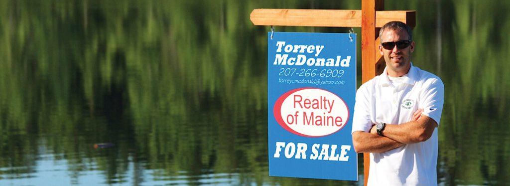 Torrey McDonald, Realty of Maine, Realtor, video production