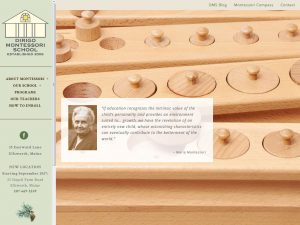 Dirigo Montessori School home page