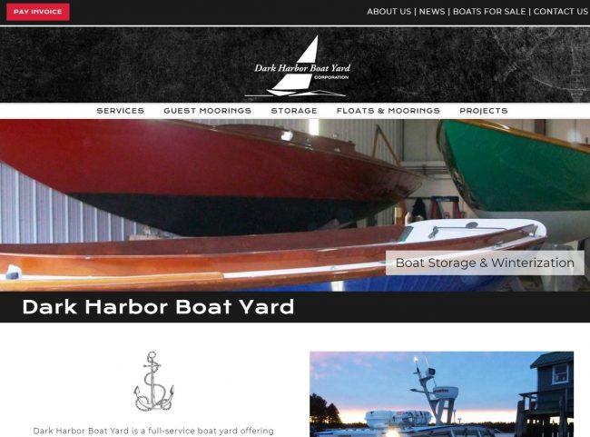 Dark Harbor Boat Yard