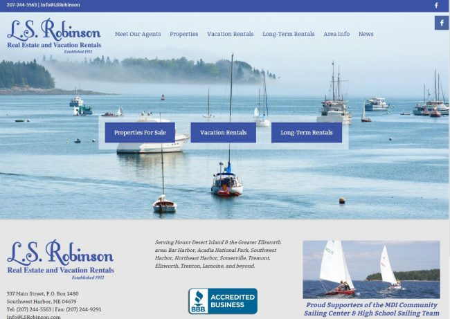 L.S. Robinson Real Estate and Vacation Rentals