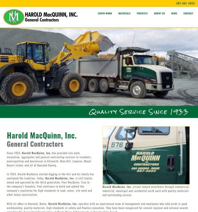 Harold MacQuinn, Inc. General Contractors