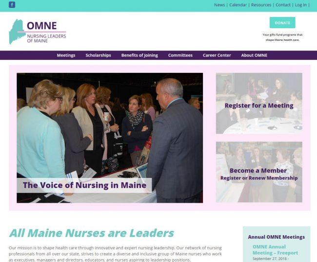 OMNE Nursing Leaders of Maine